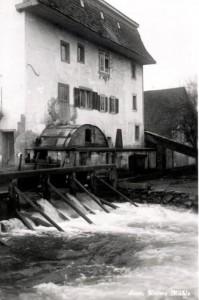 Jahr 1962: Wasserrad