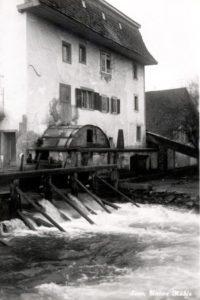 03a 1962 untere Mühle Wasserrad