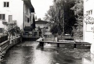 03b 1974 untere Mühle Steg